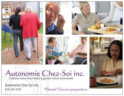 Autonomie chez soi inc affiche ta pme for Activite chez soi