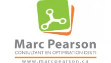 Marc Pearson, Consultant en optimisation des TI