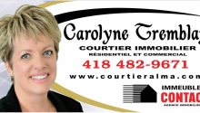 COURTIER IMMOBILIER IMMEUBLE CONTACT CAROLYNE TREMBLAY