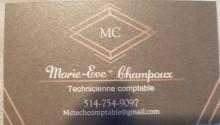 Marie-Eve Champoux Services comptables