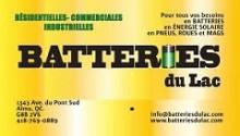 Batteries du Lac